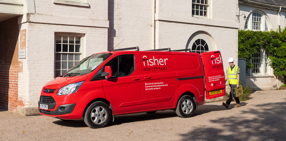 fisher-electrical-van-stately-home