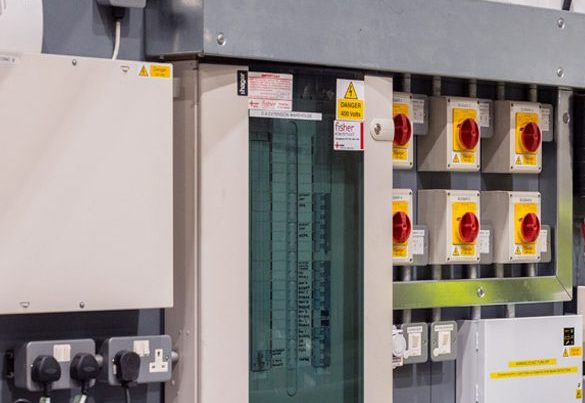 fisher-electrical-warehouse-panel